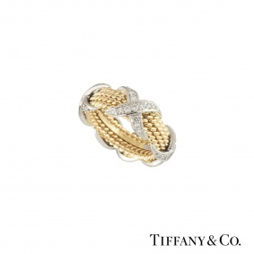 Tiffany & Co. Diamond Schlumberger Ring